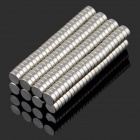 3*1mm NdFeB Neodymium Magnet Cylinder DIY Puzzle- Silver (200PCS)