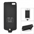 X7 2800mAh Rechargeable External Backup Battery Case for iPhone 5 - Black