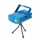 S09A Red / Green Mini Laser Stage Light / Lamp - Blue (100~240V)