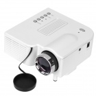 UC-28 24W Portable Mini LCD Projector w/ 3.5mm / SD Card Slot / AV / VGA / USB / HDMI
