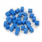 3362P Adjustable Resistance Element Kit - Blue + Silver (15 x 2 PCS)