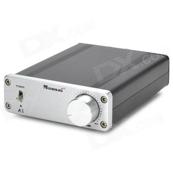 Mousai 25WX2 TA2021 MS-A1 Class T Digital Amplifier - Silver + Black
