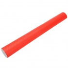 3D Decorative Car Carbon Film Sticker - Red (32 x 127cm)