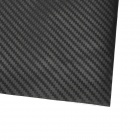 3D Decorative Car Carbon Film Sticker - Black (32 x 127cm)