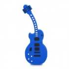 Guitar Shaped USB 2.0 Flash Drive - Deep Blue + Black (16GB)