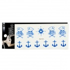 YM-T011-015 Water Resistant Temporary Body Tattoo Sticker - Multicolored (5 PCS)