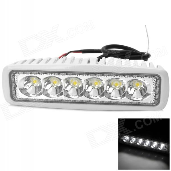Waterproof 18W 1440lm 6500K 6-LED White Car Working / Fog / Daytime Running Light (10~30V) фотобарабан opc drum d0099510