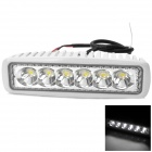 Waterproof 18W 1440lm 6500K 6-LED White Car Working / Fog / Daytime Running Light (10~30V)
