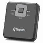 LY-001 Bluetooth V3.0 Music Receiver w/ FM Radio - Black + Grey