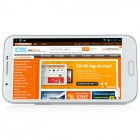 "N9599 MTK6589 Quad-Core Android 4.2.1 WCDMA Bar Phone w/ 5.7"" , Wi-Fi, FM and GPS - White"
