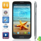 "N8100 MTK6589 Quad-Core Android 4.2.1 WCDMA Bar Phone w / 5,7 ""HD, Wi-Fi, FM und GPS - Grau"