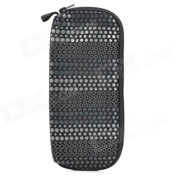 WINMAX WMP20070H Dot Pattern Neoprene Waterproof Pen Bag - Black
