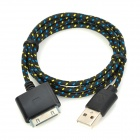 NL-30 USB to iPhone 30-Pin Data / Charging Cable for iPhone 4 / 4S / iPad 3 - Black