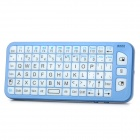 2-in-1 2.4GHz Wireless emote Control QWERTY Keyboard Air Mouse w/ LED - Blue + White