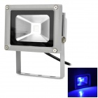 G4 10W 600lm Blue Light LED Projektion / Werbung / Fotografie Lamp - Grau + Schwarz