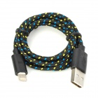 NL-8 USB to 8-Pin Lightning Data / Charging Cable for iPhone 5 / iPad 4 - Black