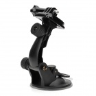 Suction Cup Mount Holder Stand for GoPro Hero Series, SJ4000 - Black