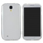 Protective TPU Case for Samsung i9500 - Transparent White