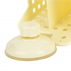 H2WY BWJ2533 Palillos cuadro titular w / Suction Cup - Beige