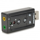C-Media CM108 Virtual 7.1-Surround USB 2.0 External Sound Card with Hardware Volume Control and Mute