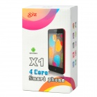 "XYZ X1 Quad-Core Android 4.2 WCDMA Bar Phone w/ 4.5"" IPS, Wi-Fi, GPS and Dual-SIM - Black"