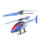 JIA QI TT1005 USB Rechargeable 2-CH IR Control R/C Helicopter - Blue + Yellow + Red (4 x LR44)