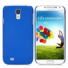 TEMEI Classic Protective Plastic Back Case for Samsung Galaxy S4 i9500 - Dark Blue