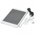 "ICOO ICOU Fatty II 7.85"" IPS Android 4.1 Quad-Core Tablet PC w/ RK3188 / HDMI / TF / 16GB - White"
