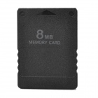 Portable Memory Card for PlayStation 2 - Black (8MB)