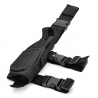 Universal Durable Adjustable Nylon Leg-mounted Gun Holster for Pistol - Black