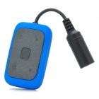 CT-32 Waterproof Rechargeable MP3 Player - Black + Blue (4GB)