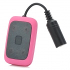 CT-32 Waterproof Rechargeable MP3 Player - Black + Pink (4GB)