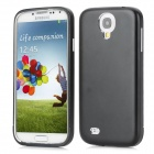Detachable Bumper Frame Protective Aluminum Back Case for Samsung Galaxy S4 / i9500 - Black