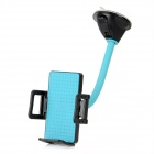 Universal Car Suction Cup Mount Bracket Holder Stand for Cell Phones / GPS / MP3 - Blue