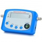 "GT-SF9507 2.2"" LCD 950~2150MHz Mini Digital Satellite Finder w/ Compass - Blue + Silver Grey"