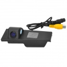 300KP CMOS Wide Angle Rearview Video Camera for Cadillac CTS Car - Black (DC 12~24V / PAL / NTSC)