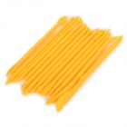 Cake Decoration Carving Modeling Tools Set - Yellow (14 PCS)