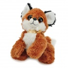 Cute Cartoon Puppy Style Stuffed Plush Doll Toy - Brown + White + Black