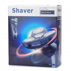 SHAVER RSCX-725 Rechargeable Electronic 4-Head Rotary Shaver w/ Trimmer - Black