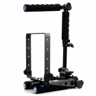 F&V DR-2 Foldable Rig Movie Kit Shoulder Mount Spider Steady Rig for Camera Shot - Black