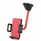 Universal Car Suction Cup Mount Bracket Holder Stand for Cell Phones / GPS / MP3 - Red
