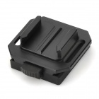 CNC Aluminum Helmet Mount adapter for GoPro HD Hero 2 / 3 - Black