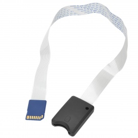 GPS SD /SDHC Card Reader Extension Cable - White + Black + Blue (48cm)