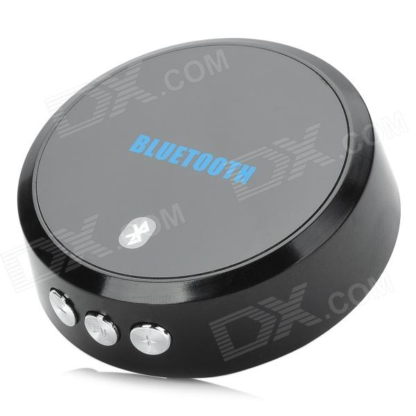 Link-381 Bluetooth V3.0 Music Receiver w/ Handsfree - Black link 381 bluetooth v3 0 music receiver w handsfree black