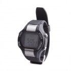 SB-021 Smart Heart Rate Calories Counter Sports Digital Wrist Watch - Silver + Black (1 x CR2032)