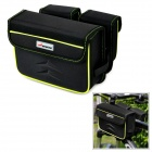 ACACIA 0413803 Cycling Bicycle Bike Frame Pannier Front Tube EVA Bag - Black