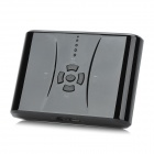 Multifunktionale MP3 Player w / TF + 12000mAh Mobile Power Battery Versorgungsmaterial - Schwarz