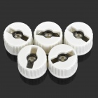 JR-22mm-5° Condensing Lens - White (5 PCS)