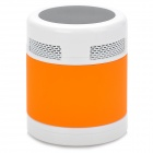 EWA V3 Portable Mini Bluetooth Speaker w/ FM/TF Slot - Black + White + Orange