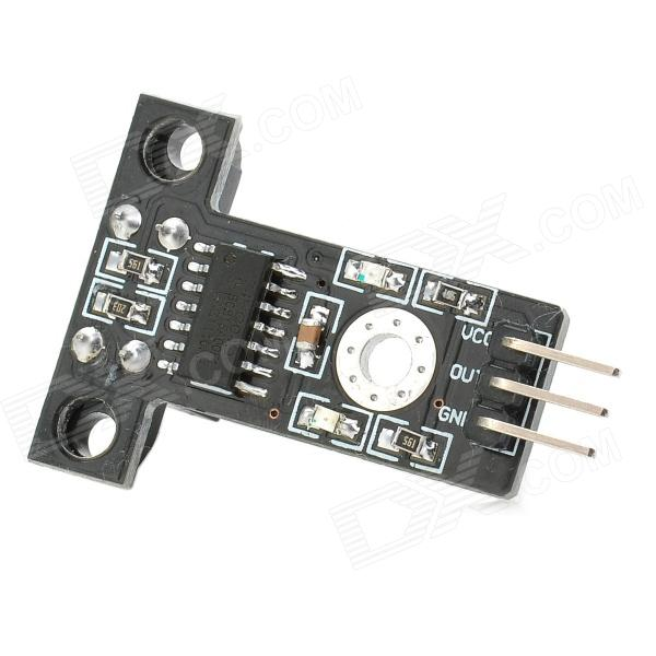 051205 Speed Measuring Module for Robot Intelligent Car - Black